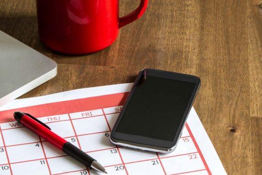 Saiba como criar um cronograma eficiente para seu curso EAD